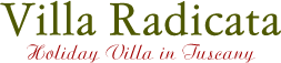 Villa Radicata - Holiday Villa in Tuscany